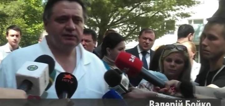 Пророссийские террористы тяжело ранили мера Харькова