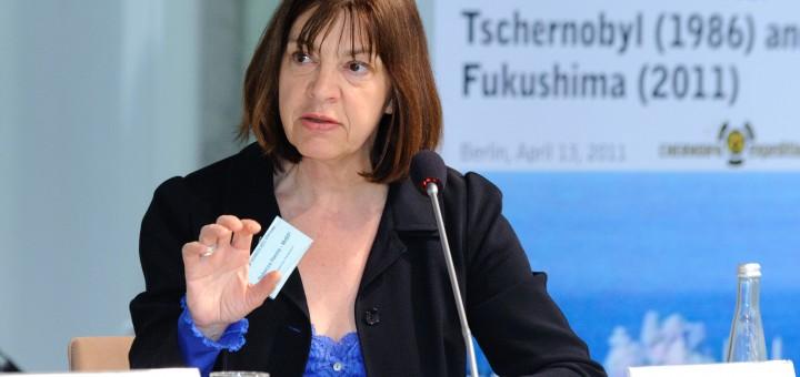 """Президент партии """"зелёных"""" в Евросоюзе Ребекка Хармс (Rebecca Harms) и ядерные технологии"""